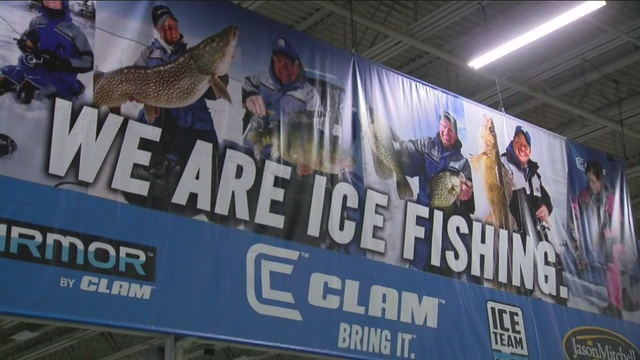 Ice fishing and winter sports show tmj4 milwaukee wi for Ice fishing expo