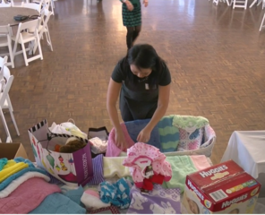 Woman's Club collects items for baby shower