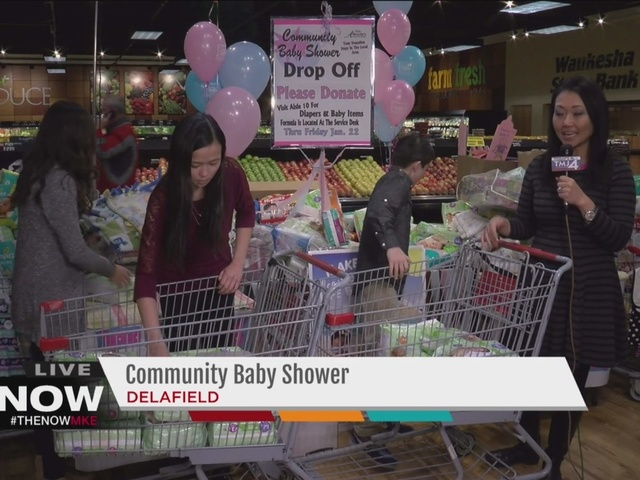 live from the 2016 community baby shower tmj4 milwaukee wi