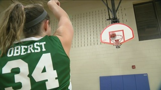 Local cancer survivor masters wheelchair hoops