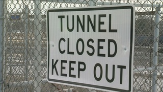 Pedestrian tunnel closed just before fatal crash