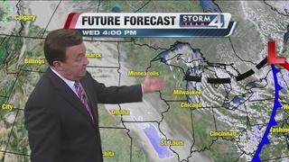 Temperatures drop Tuesday