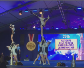 Franklin cheer team places 6th at Nationals