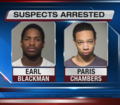 2 arrested after vehicle break-ins at airport
