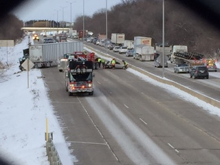 I-43 north reopens after several crashes