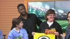 Cedarburg School Gets a Visit from Some Packers