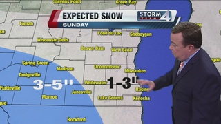 Frigid Friday, Saturday; Expect snow Sunday