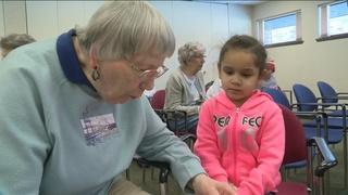 'Knitting Grandmas' give warmth to MPS students