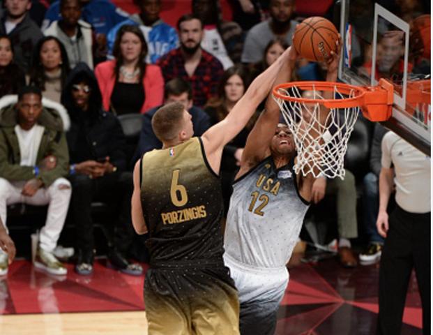 Milwaukee Bucks' Jabari Parker posterizes Kristaps ... Jabari Parker Shooting