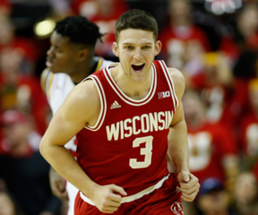 Badgers upset No. 2 Maryland on the road 70-57