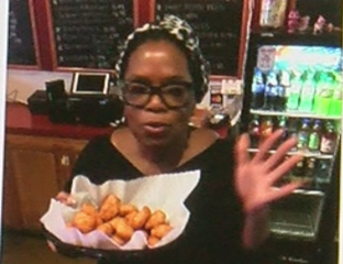 Inside the BBQ joint owned by Oprah's niece