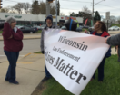 'Law enforcement matters' supporters gather