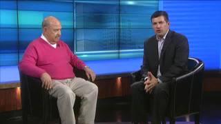 'Mean' Gene Okerlund talks with Lance Allan