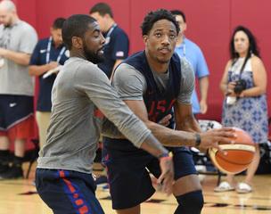 GALLERY: USA Basketball showcase practice