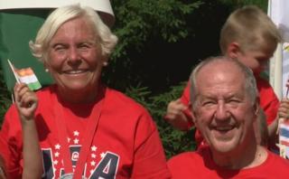 Sheboygan family celebrates Summer Olympics