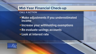 Call 4 Action: Mid-year financial check-up