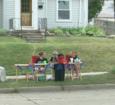 Children open lemonade stand, raise $3,800