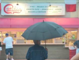 Rain doesn't stop people from attending Festa