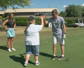 Course offers golf lessons to special needs kids