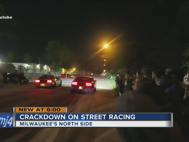 Police to crack down on street racers in Milwaukee