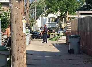 Standoff near 13th and Orchard ends peacefully