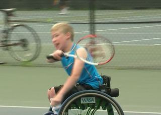 Local boy hopes to compete in paralympic games