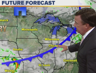 Becoming less humid Wednesday