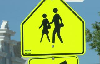 Bay View may get flashing pedestrian signs