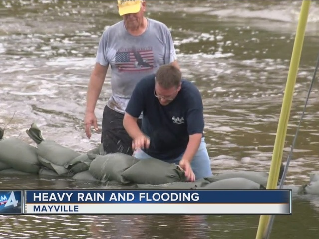 Flooding in Dodge County: 2 Mayville schools evacuated, many