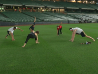 Brewers add yoga to training routine