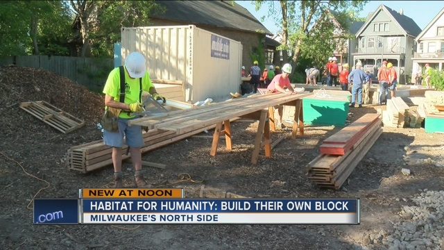 Habitat For Humanity Targets Washington Park Tmj4