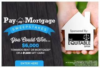 Pay My Mortgage Sweepstakes!
