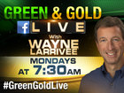 Watch Green and Gold LIVE Mondays on Facebook