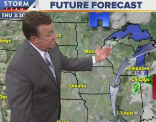 Rain possible later Tuesday