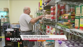 Local food bank hopes to offer 'healthy shelves'