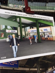 Brewers announce major concourse upgrades