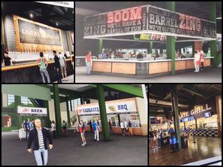 GALLERY: Brewers unveil big Miller Park upgrades