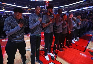 Bucks hold auditions to perform national anthem