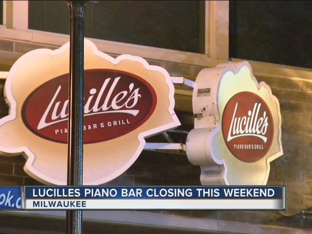 Downtown Milwaukee piano bar Lucille's is closing