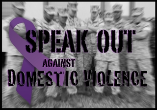 Call the domestic violence awareness phone bank
