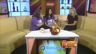 Going Purple for Domestic Violence Awareness