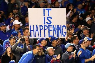 Cubs fans turn attention to World Series