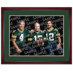 Photo of 3 legendary Packers QBs now available