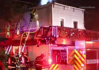 Man saves little girl from Kenosha fire
