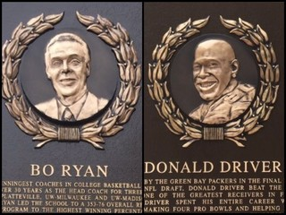 Ryan, Driver get Wis. Hall of Fame plaques