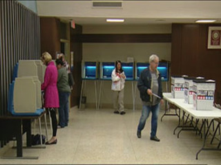 Early voters flood Waukesha County polls