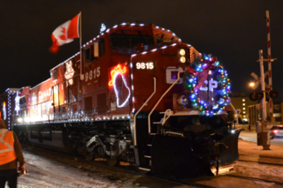 Canadian Pacific Holiday Train arrives this week