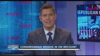 Sean Duffy talks recount, 2018 race