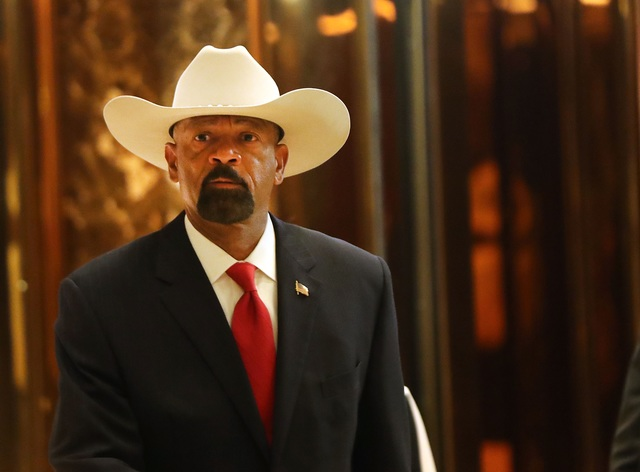 Sheriff David Clarke, Outspoken Support of Trump, Resigns As Milwaukee…