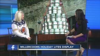MillerCoors Holiday Lites Display Underway